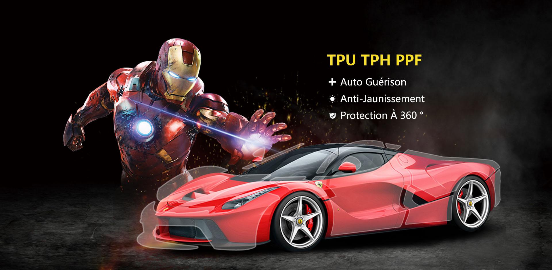 CL-PPF-TPU Film de protection de peinture auto