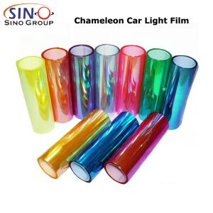 CL-HL-CM Autocollant vinyle teinte couleur phare caméléon